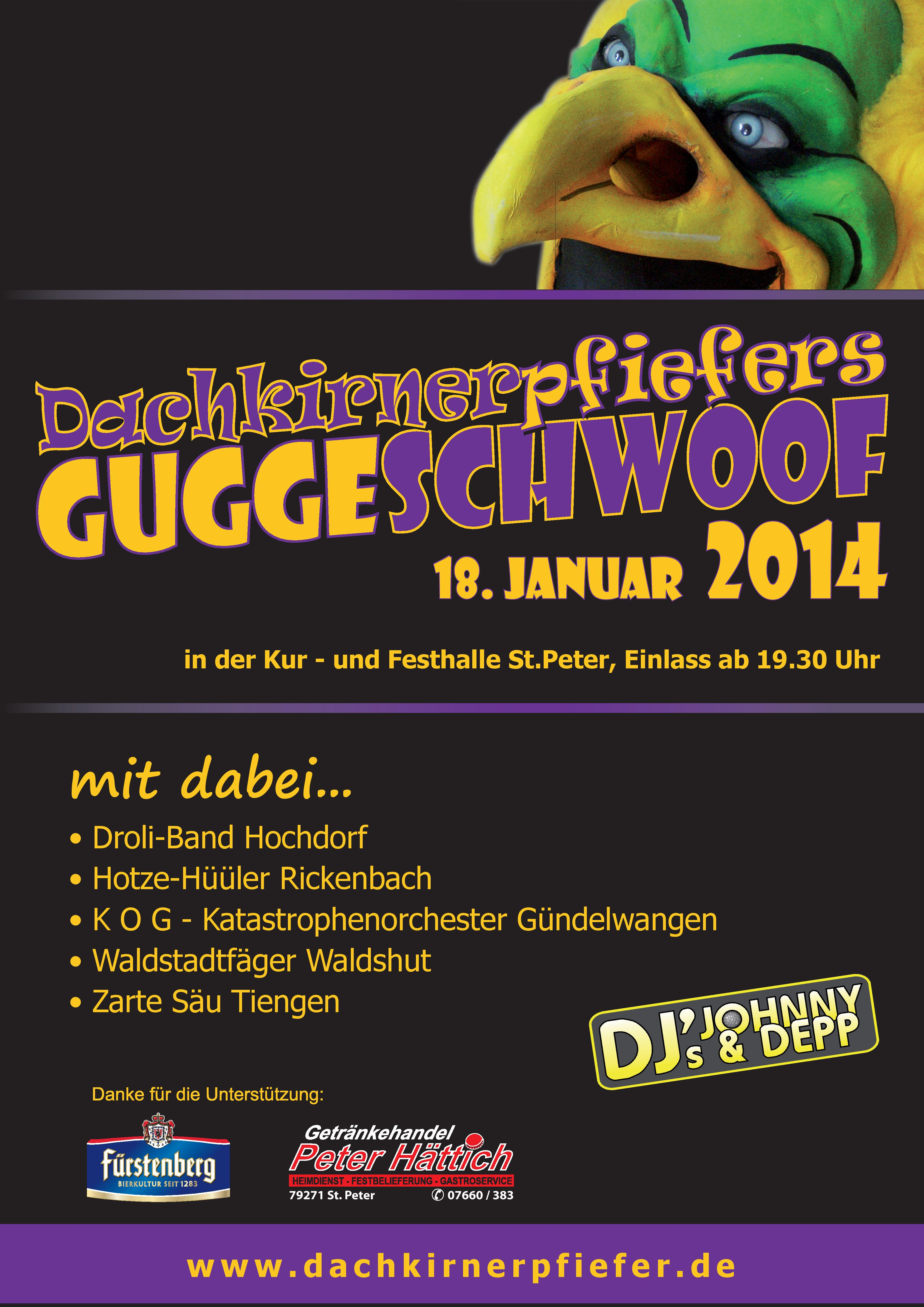 Plakat Guggeschwoof2014