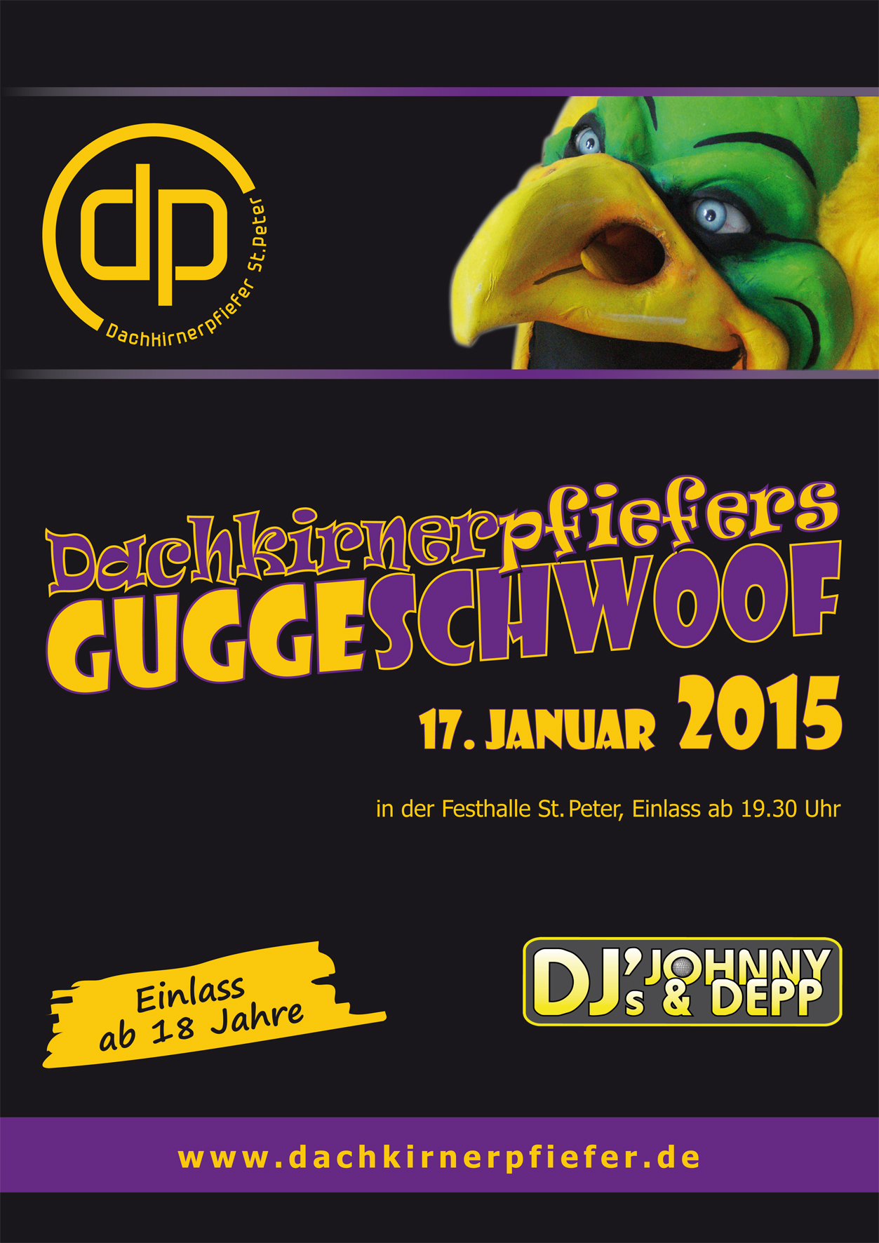 Plakat Guggeschwoof2015