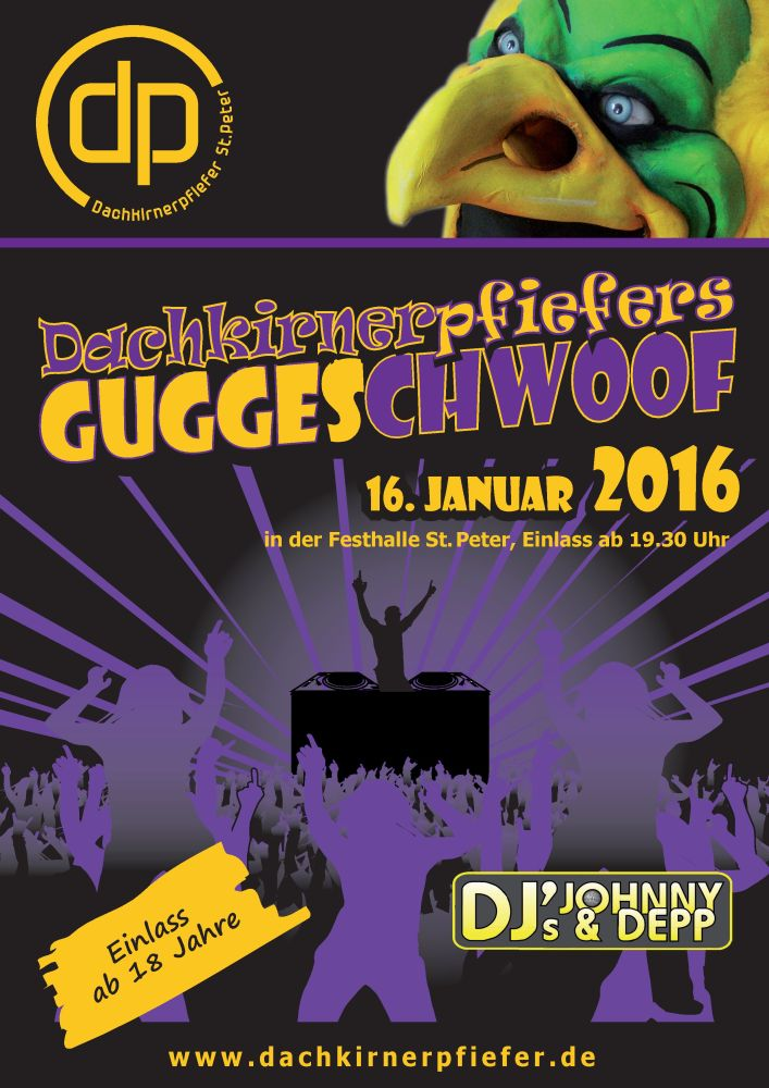 Plakat Guggeschwoof2016