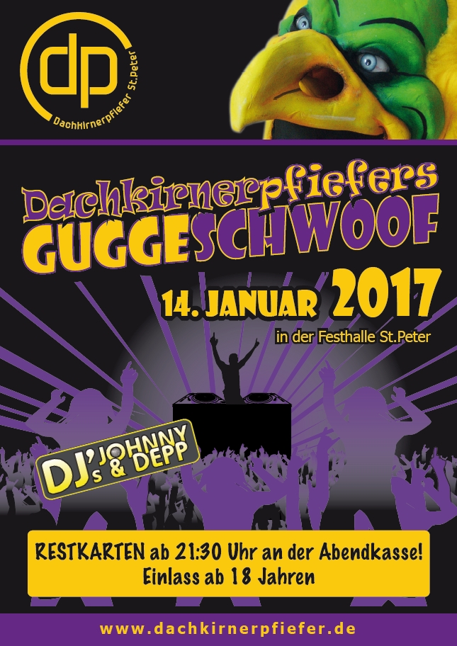 Plakat Guggeschwoof2017